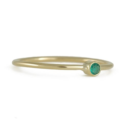 ELE KEATS- Baby Ring with Emerald