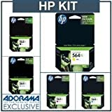 HP 564xl Ink Cartridges. Not for use in Photosmart Plus printers. ~ HP