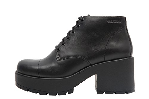 Vagabond Dioon Shoes Francesine Black - Stivaletti Neri Stringati