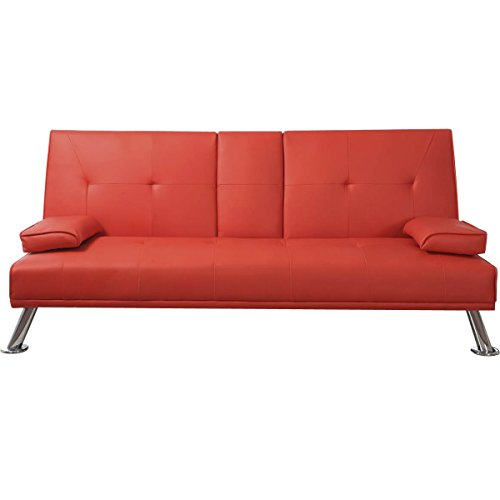 Excellent 5 Faux Leather Bed Frames In Red