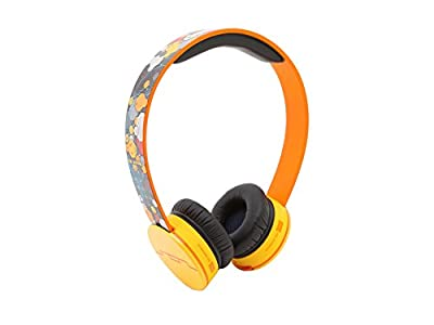 SOL REPUBLIC Tracks On-Ear Headphones with Three-Button Remote and Microphone Featuring Steve Aoki Collaboration