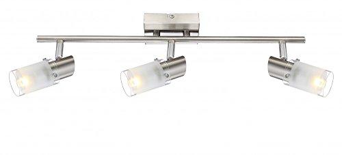 moderner-12w-led-spot-strahler-flur-chrom-glas-nickel-eek-a-globo-jill-56021-3