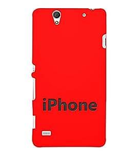 EPICCASE I phone Mobile Back Case Cover For Sony Xperia C4 (Designer Case)