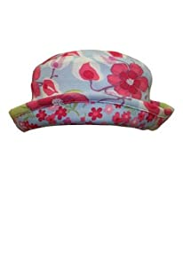 Baby Lulu Waterleaf Baby Girls Knit Roll Hat