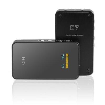 CLOSEOUT FiiO E7 USB DAC and Portable Headphone Amplifier (BlackOPEN BOX USED GOOD CONDITION