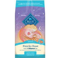 See Blue Buffalo Adult Finicky Feast Formula Dry Cat Food