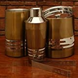Stainless Steel Bar Set - Gold