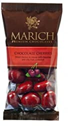Marich Chocolate Cherries, 2.3-Ounce (Pack of 12)