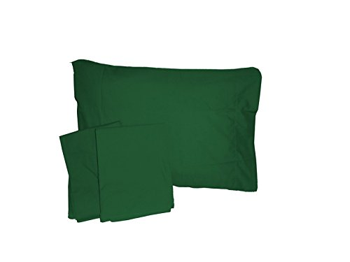 Baby Doll Solid Crib/ Toddler Bed Sheet Set, Green