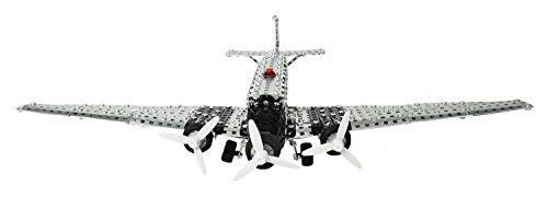 Tronico-10125-Metallbaukasten-Junkers-JU52-3-motorige-Propellermaschine-Mastab-150