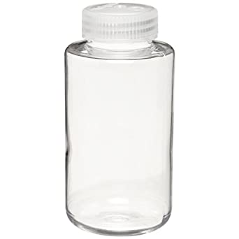 Nalgene 3122-1010 Narrow-Mouth Centrifuge Bottle, Polycarbonate With PP Screw Closure, Max Rating 7100 x g, For IEC Rotor, 1000mL (Pack of 4)