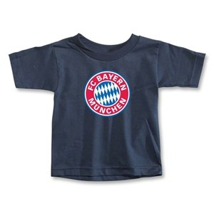 hidden Bayern Munich Logo Toddler T-Shirt (Navy)