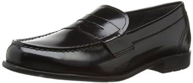 Rockport Mens Classic Penny Loafers V76685 Black Brush Off 7 UK, 40.5 EU, 7.5 US, Wide