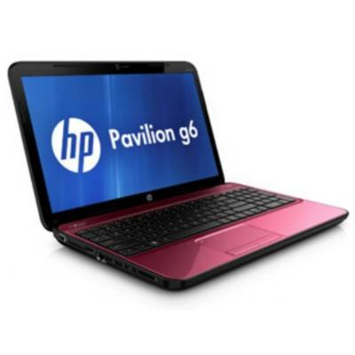 HP Pavilion g6-2211nr C2N64UA 15.6 Notebook AMD A4-4300M 2.5GHz 4GB DDR3 500GB HDD SuperMulti DVD burner AMD Radeon HD 7420G Windows 8 Ruby Red