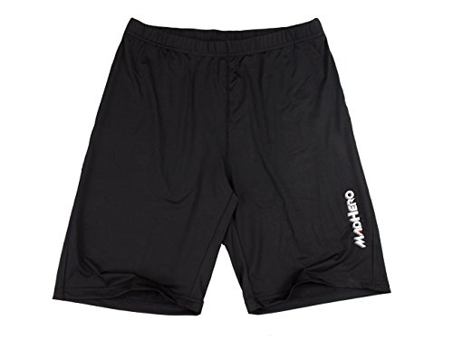 Hugesports Men's Dry Fast Performance Flex Gym Workout Exercise Fitness Sports Shorts Trunks Black XXLarge