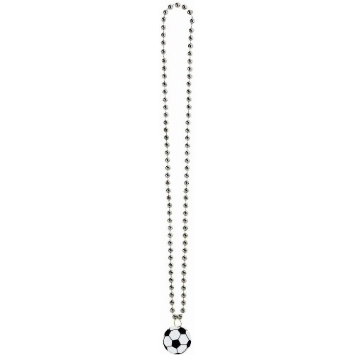 bead necklace small soccer