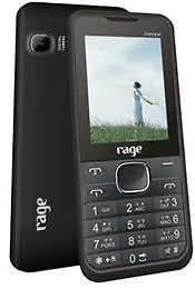 Rage Freedom Dual Sim Mobile- Black Blue Colour