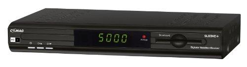 Comag SL60 HD+ HDTV Digitaler Satelliten-Receiver (PVR Ready, Upscaler 1080i, inkl. HD+ Karte für ein Jahr, USB 2.0) schwarz