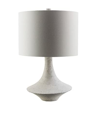 Surya Bryant Table Lamp, Concrete
