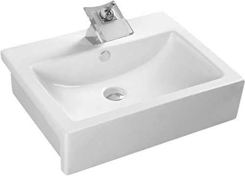 Elegant Casa Counter Top Wash Basin EC-406White