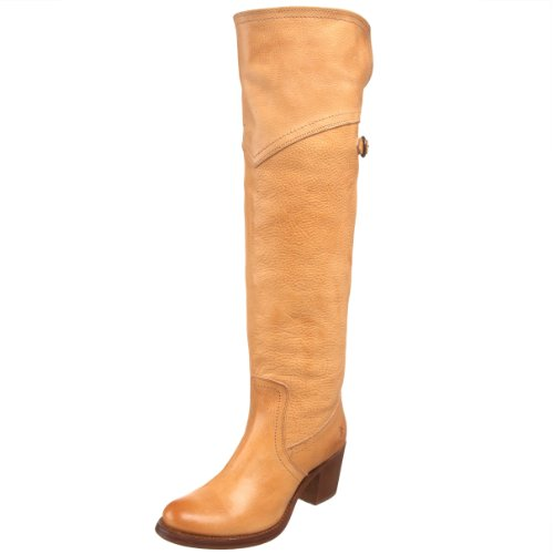 Frye Women's Jane Tall Cuff 77595 Boot Natural 77595Nat7 5 UK