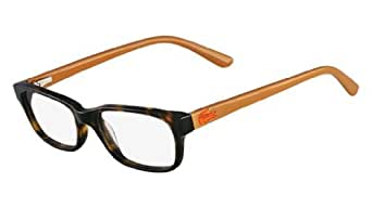 Amazon.com: LACOSTE L3606 Eyeglasses 214 Havana 49-16-130: Clothing