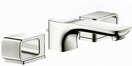 Hansgrohe 11041831 Axor Urquiola Widespread Faucet, Polished Nickel