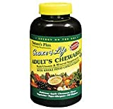 Source of Life, Adult's Chewable Multi-Vitamin & Mineral Supplement, Apple Cinnamon Flavour, 90 Wafers