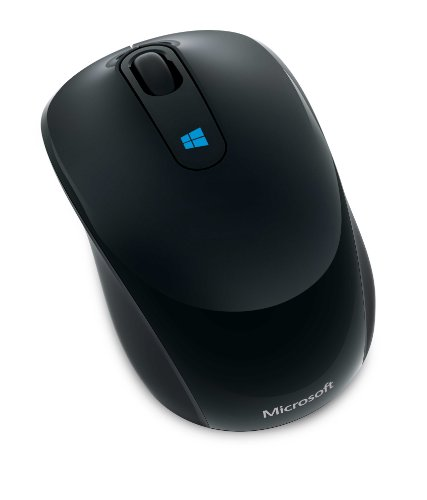 マイクロソフト ワイヤレス マウス コンパクトサイズ 高精細読み取りセンサー Sculpt Mobile Mouse Black 43U-00007