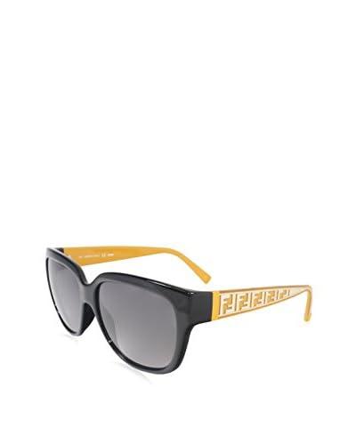 Fendi Women's FS5292 Sunglasses, Black Mustard