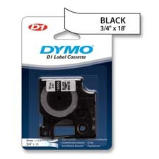 Dymo Corporation Products - Tape Cartridges, Permanent Tape, 3/4
