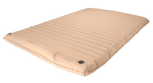 SimplySleeper SS-27Q Inflatable Full Air Mattress Bed with Built-In Foot Pump (Inflates in 4 mins) - Best material in the market!