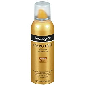 Neutrogena Micro-Mist Sunless Tanning Spray Medium - 5.3 oz