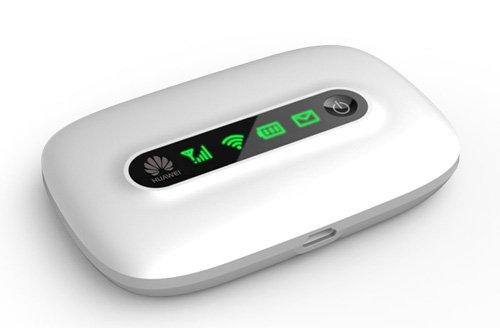 Huawei E5331 モバイル Huawei E5331 モバイル WIFI ルーター(E585/E586と同じ) 下り最大21Mbps Mobile WiFi (SIM フリー 版) White