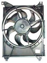 TYC 610700 Hyundai/Kia Replacement Condenser Cooling Fan Assembly by TYC