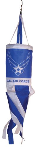 In the Breeze U.S. Air Force Wings Spinsock, 14-Inch