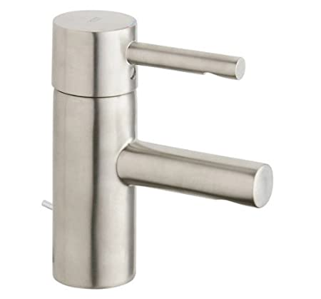 Essence New Single-Handle Single-Hole Low Arc Bathroom Faucet