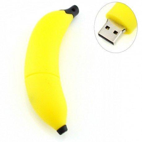 D-CLICK TM High Quality 4GB/8GB/16GB/32GB/64GB/Cool USB High speed Flash Memory Stick Pen Drive Disk (8GB, Banana)