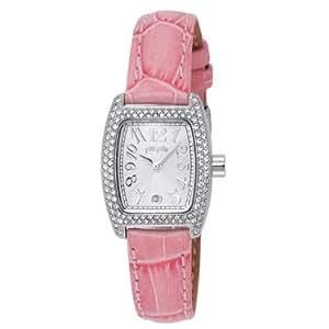 【並行輸入】 フォリフォリ Folli Follie 腕時計 S922ZI SLV/PNK