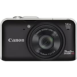Canon PowerShot SX230 IS Digital Camera