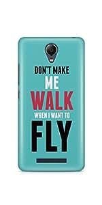 Casenation I Want To Fly Xiaomi Redmi Note 2 Matte Case