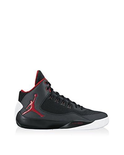 Nike Zapatillas Jordan Rising High 2 Negro / Rojo / Blanco