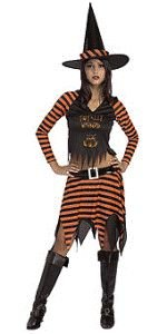 Drama-licious Wicked Witch Young Adult (Teen) Halloween Costume Size 2-6