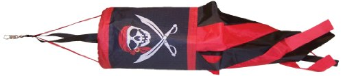 In the Breeze I'm a Jolly Roger Spinsock with Car Pole, 14-Inch