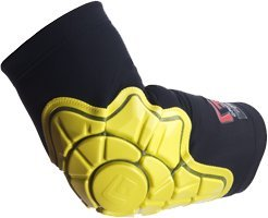Buy G-Form Elbow Skateboard Pad XXS-Black Yellow by G-Form
