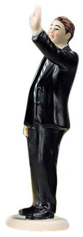 Weddingstar-High-Five-Groom-Figurine