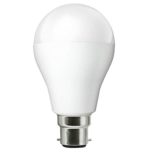 6-Watt Clas A B22 LED Lamp (White)