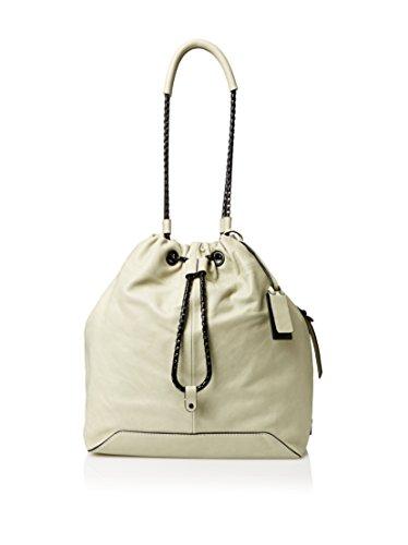 Joy Gryson Women's Inez Dakar Bucket Bag, Sage