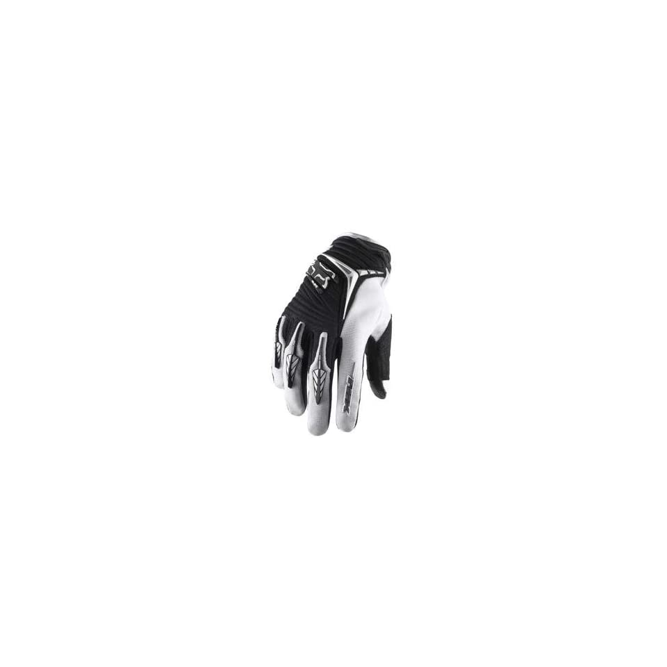 Fox Racing Blitz Gloves   Medium/Black/White Automotive