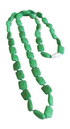 Little Teether Dainty Teething Necklace for Baby Nursing - Stylish Silicone Necklace for Moms, Teether for Babies. Provides Teething Pain Relief. Food-Grade Safe! Teething Remedy Approved by Mothers! - 1
